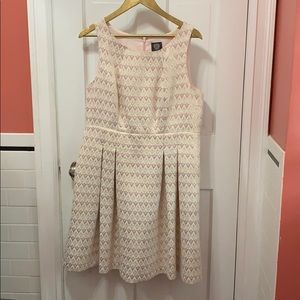Sleeveless Pink Dress